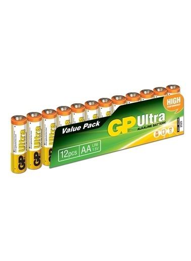 GP GP15AU-VS12 12'li Paket Ultra Alkalin Pil Renkli